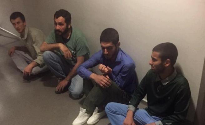 MİT operasyonuyla 4 PKK'lı terörist Irak'tan Türkiye'ye getirildi