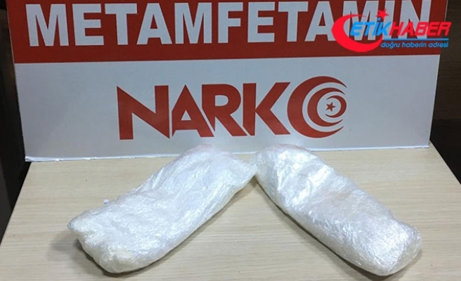 Otomobilde 451 gram metamfetaminle yakalanan şüpheli tutuklandı