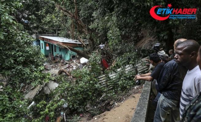Rio'da sel felaketi: 7 ölü