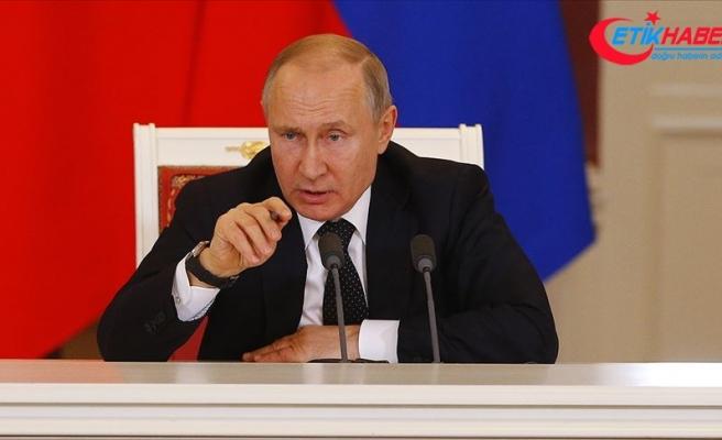 Rusya Devlet Başkanı Putin: Rusya, doğal gazla ilgili yükümlülüklerini daima yerine getiriyor