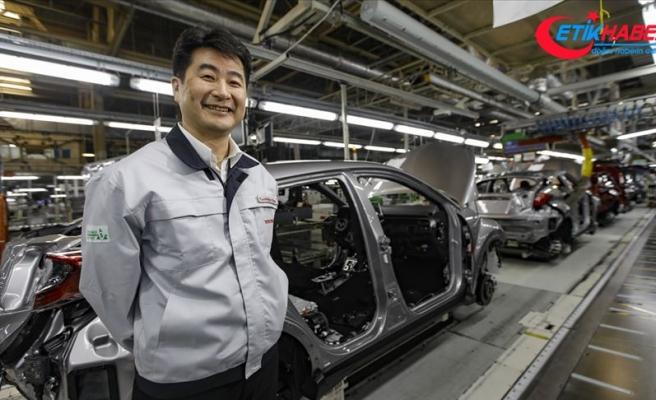 Sakarya'da üretilen Corolla ve C-HR'nin yüzde 90'ı ihraç ediliyor
