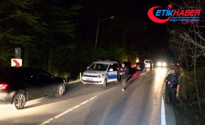 Sarıyer'de ''dur'' ihtarına uymayan sürücü polise çarptı