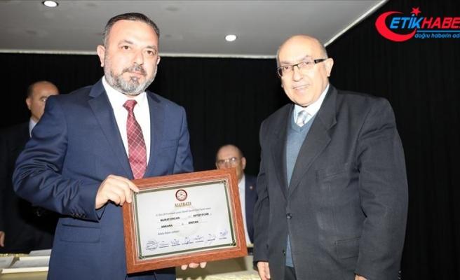 Sincan Belediye Başkanı Ercan mazbatasını aldı