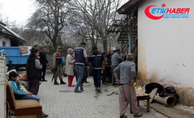 Sobayı mazotla tutuşturmak isterken evi yaktı: 2 yaralı