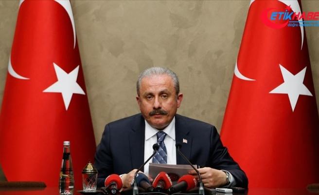 TBMM Başkanı Mustafa Şentop: Bunu yapanların bir provokasyon içerisinde olduklarını düşünüyorum