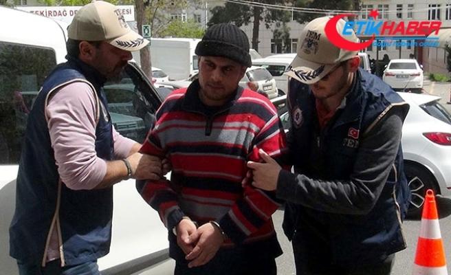 Tekirdağ'da eylem hazırlığında yakalanan DEAŞ'lı adliye sevk edildi