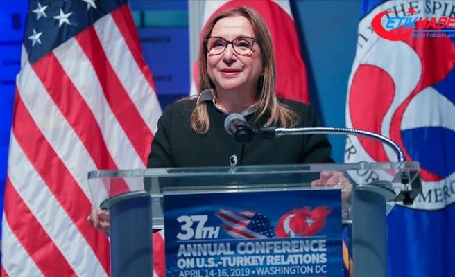 Ticaret Bakanı Pekcan: Türkiye ve ABD büyük potansiyele sahip önemli ticaret ortaklarıdır