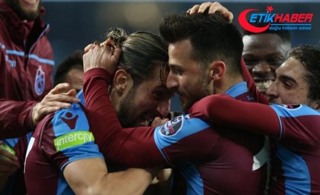 Trabzonspor'dan bol gollü galibiyet