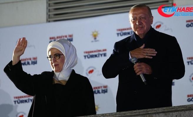 Türkiye Cumhurbaşkanı Erdoğan'a liderlerden seçim tebriği