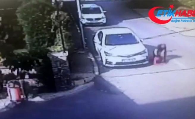 Tuzla'da 12 yaşındaki çocuğu döven maganda yakalandı