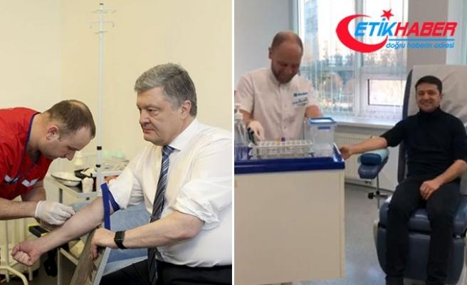 Ukrayna'da başkan adayları alkol ve uyuşturucu testinden geçti
