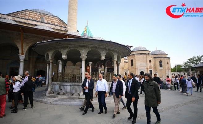 Ürdün Kraliyet ailesi Konya'da