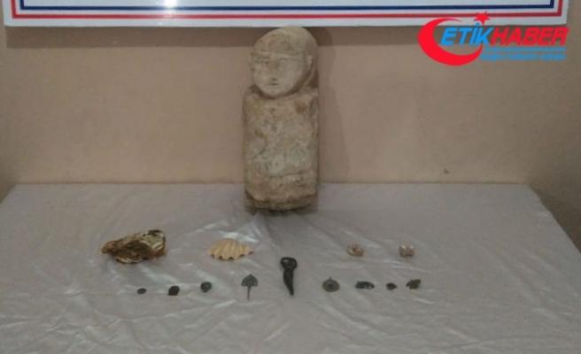 Van'da tarihi eser operasyonu: 2 gözaltı