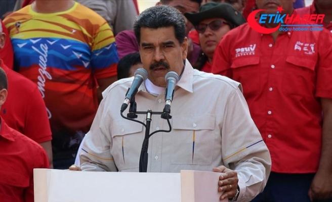 Venezuela lideri Maduro: Halkı, vatanı ve anayasal düzeni korumak için sokağa davet ediyorum