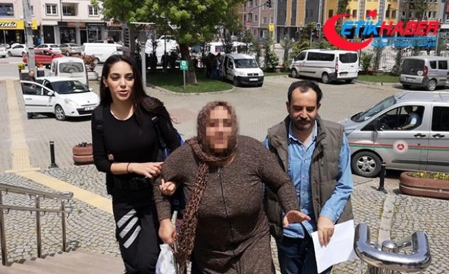 Yağma suçundan 12 yıl hapisle aranan kadın yakalandı