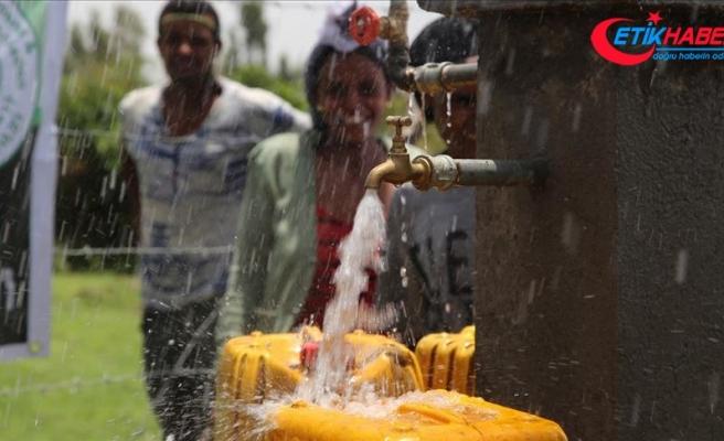 Yardımeli Derneği, Etiyopya'da binlerce kişiyi yağmur suyu içmekten kurtardı