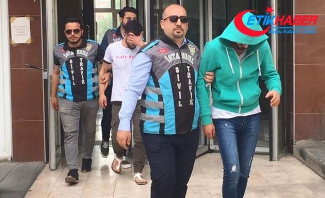 15 Temmuz Şehitler Köprüsü'ndeki trafik magandaları yakalandı