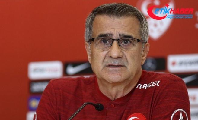 A Milli Futbol Takımı Teknik Direktörü Güneş: Her iki maçta da anlayışımız kazanmaya dönük olacak