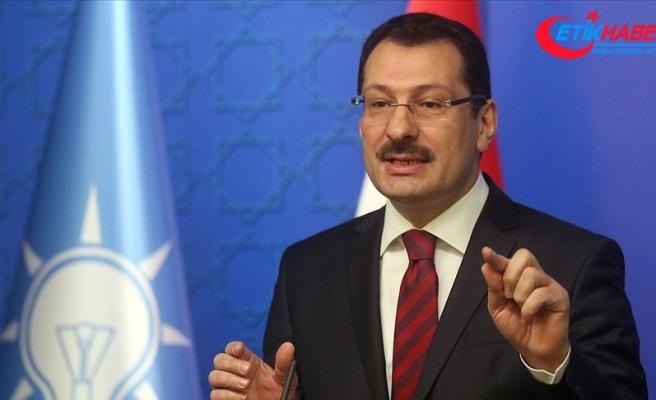 AK Parti Genel Başkan Yardımcısı Yavuz: Raydan çıkan bir şey vardı, YSK kararı ile raya alındı