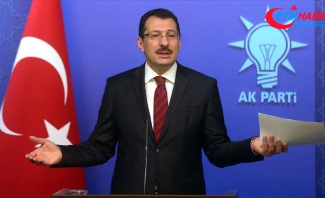 AK Parti Genel Başkan Yardımcısı Yavuz: Tüm iddialarımız nettir