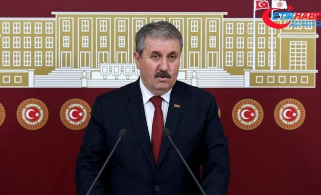 BBP Genel Başkanı Destici: Pençe harekatını sonuna kadar destekliyoruz