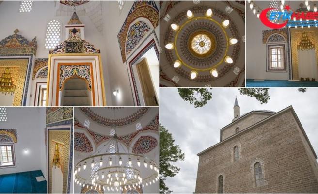 'Bosna'nın İncisi' Alaca Cami yarın ibadete açılıyor