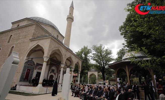 'Bosna'nın incisi' Foça Alaca Cami ibadete açıldı