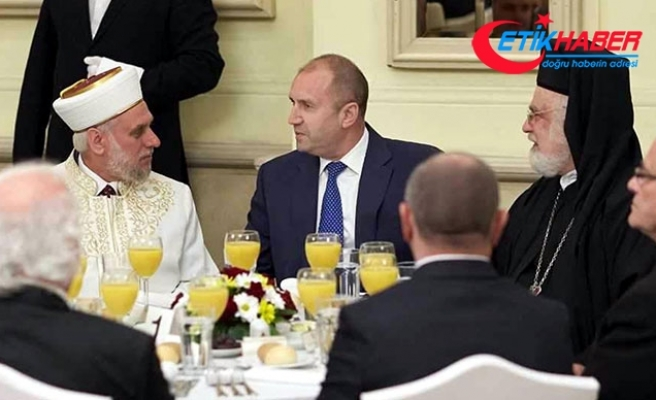 Bulgaristan Cumhurbaşkanı Radev, Müslümanlara iftar verdi