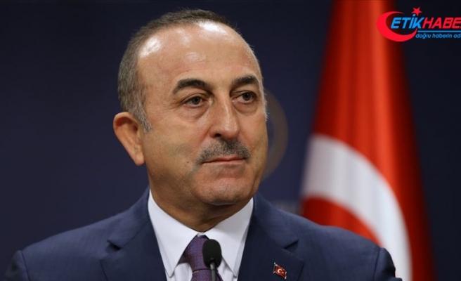 Çavuşoğlu'ndan BM daimi üyeleri ve AB dışişleri bakanlarına 'Doğu Akdeniz' mektubu