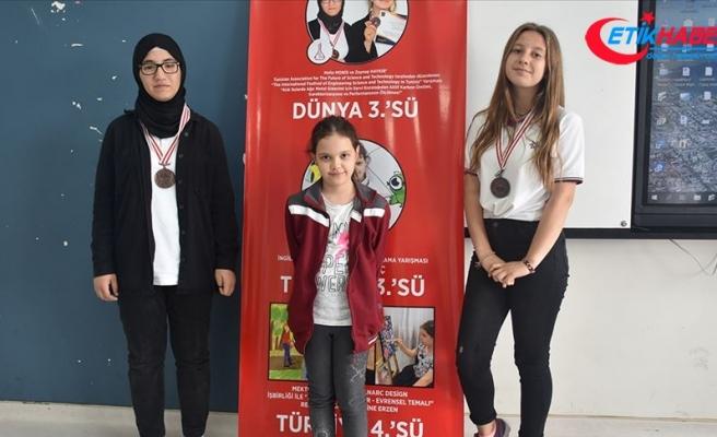 Cizreli kız öğrencilerden büyük başarı