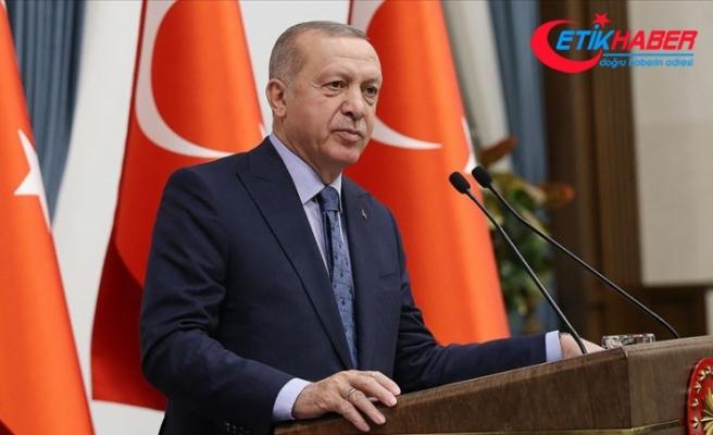 Cumhurbaşkanı Erdoğan'dan 'Pençe Operasyonu' mesajı