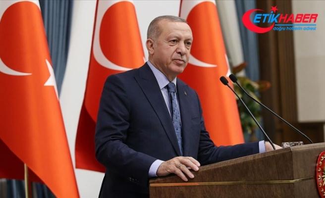 Cumhurbaşkanı Erdoğan: Terör örgütüyle el ele olanlar bizimle ittifak halinde olamazlar
