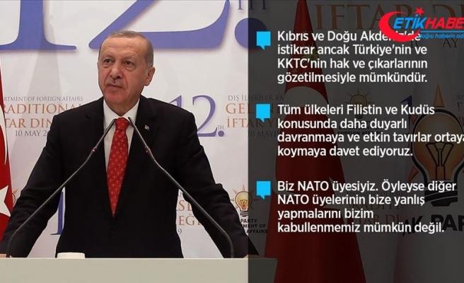 Cumhurbaşkanı Erdoğan: Çifte standartlı yaklaşımın devam ettiğini görüyoruz