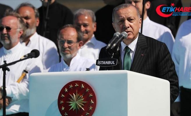 Cumhurbaşkanı Erdoğan: İbadet mekanlarını bombalamanın adı cihat değil terördür