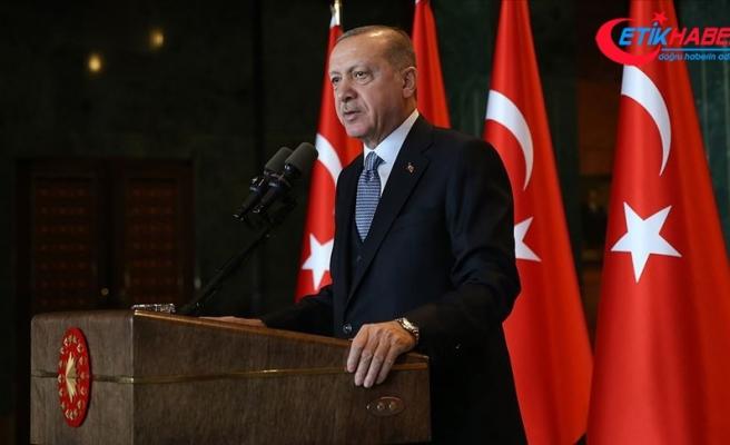 Cumhurbaşkanı Erdoğan İstanbul'un fetih yıl dönümünü kutladı