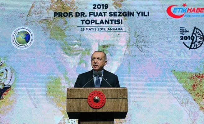 Cumhurbaşkanı Erdoğan: Türkiye'yi bilim insanları için önemli bir cazibe merkezi haline getireceğiz
