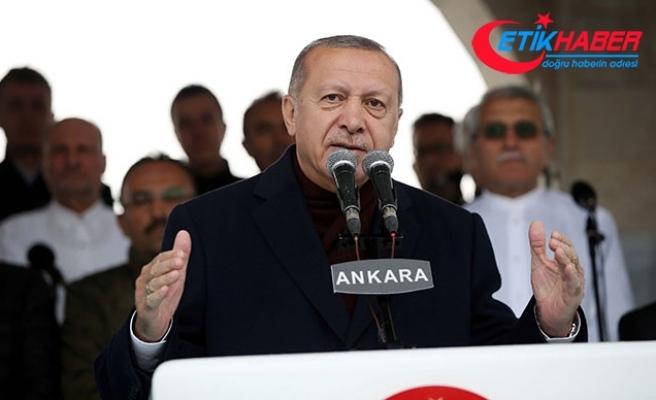 Cumhurbaşkanı Erdoğan: Yapar duvarlar örmemeliyiz