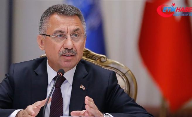 Cumhurbaşkanı Yardımcısı Oktay: İsrail'in saldırısı Türkiye'nin kararlılığını değiştirmez
