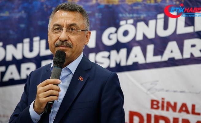 Cumhurbaşkanı Yardımcısı Oktay: Milletimizin ve İstanbul'un ihtiyacı ayrışmak değil