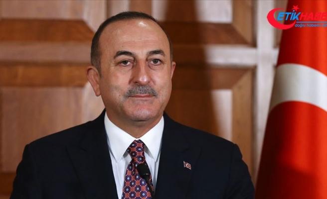 Dışişleri Bakanı Çavuşoğlu: Türkiye, KKTC ve Kıbrıs Türk halkı her zaman çözümden yana oldu