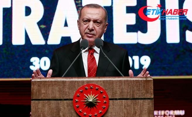 Erdoğan: Reform belgesiyle AB tam üyeliğe bağlılığımızı ifade etmiş oluyoruz
