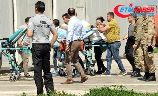 EYP, imha sırasında infilak etti: 1 asker yaralı