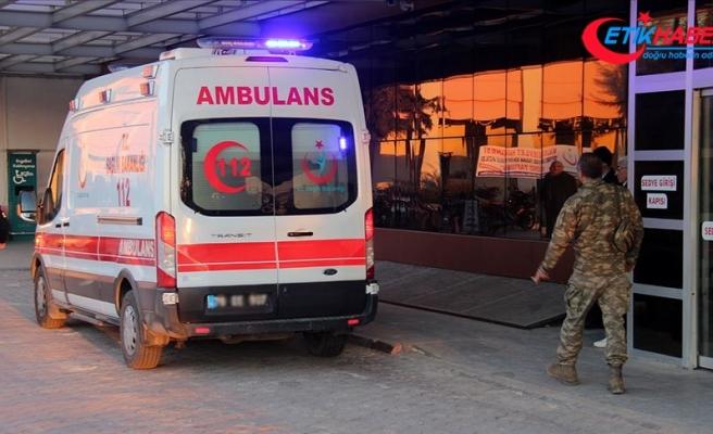 Fırat Kalkanı Harekat Bölgesi'nde yaralanan asker şehit oldu
