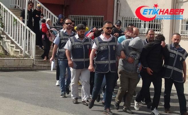 Hatay'da fuhuş operasyonu:19 gözaltı