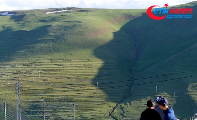 Hava güneşli olunca 'Atatürk silüeti' erken göründü