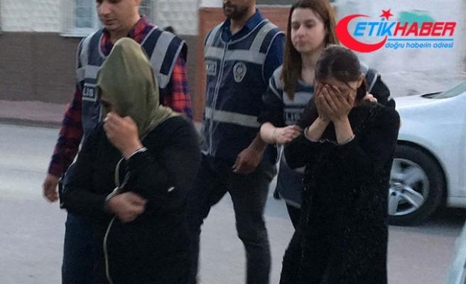 Hırsızlık için Konya'ya gelen 2 kadın, kovalamacayla yakalandı