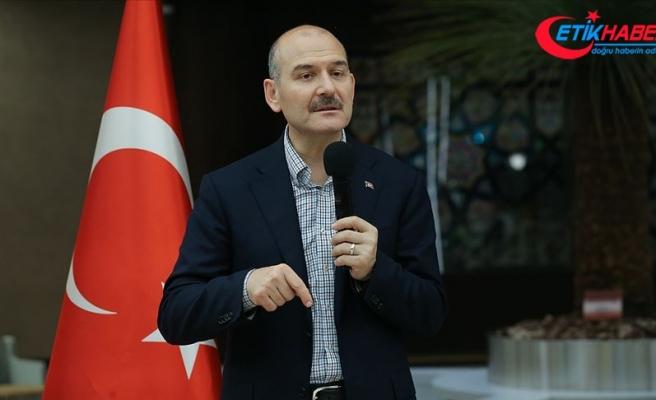 İçişleri Bakanı Soylu: İstanbul üzerinden birileri istikrara yeni bir yol açmaya çalışıyor
