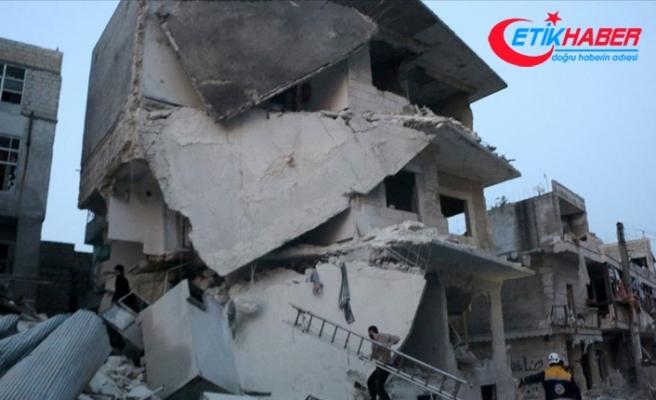 İdlib'de hava saldırılarında sahurdan bu yana 13 sivil öldü