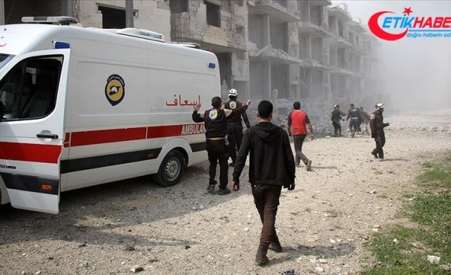 'İdlib Gerginliği Azaltma Bölgesi'nde saldırılar sürüyor: 11 ölü