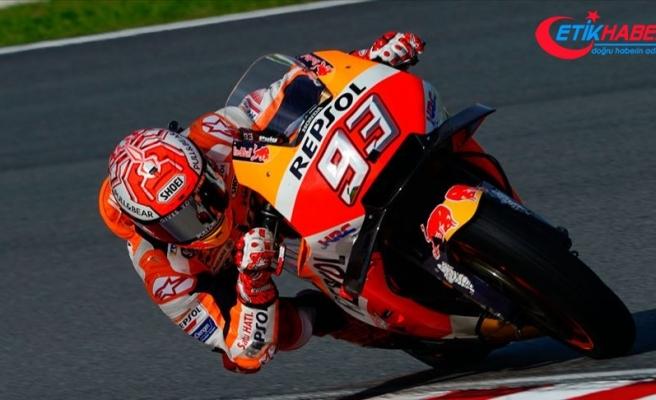 İspanya'da kazanan Marquez